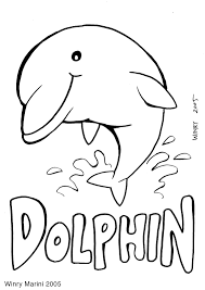 art and lore dolphin coloring page mewarnai lumba lumba