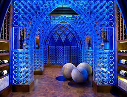 led design led wine cellar by beckwith design milk