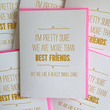 best friend card best friend birthday card we are like a