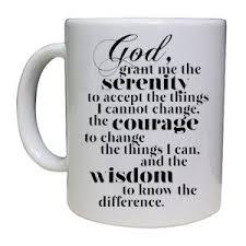 serenity prayer mug aa serenity prayer cup mug great gift idea co uk