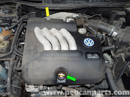 volkswagen jetta mk4 engine cover removal jetta mk4 2 0l 1999
