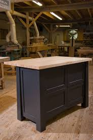 sturdy hand crafted custom kitchen island by against grain custom