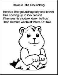 alphabet letter groundhog theme preschool lesson plan printable