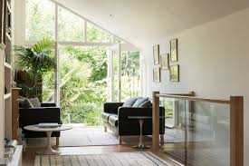 Modern English Living Room Design Rescued From Ruin A 19th Century Greenhouse Becomes A Modern