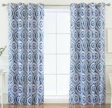 Curtain Panels Emile Shibori Blackout Thermal Grommet Curtain Panels U0026 Reviews