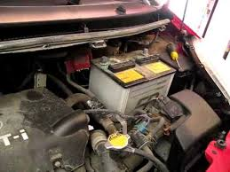 2008 toyota yaris battery how to replace install car battery on toyota yaris