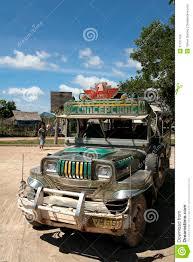 philippines jeepney vector philippines jeepney public transport coron palawan editorial stock