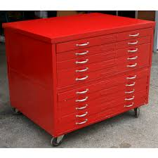 Filing Cabinet For Home - red flat file cabinet flat file cabinet for home storage u2013 wood