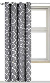 beautiful gray white curtains 21 hillcrest gray and white striped