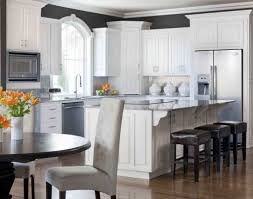 popular colors for kitchen cabinets decorators white kitchen cabinets refrigerator freezer combo