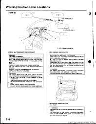 honda integra 1998 4 g workshop manual
