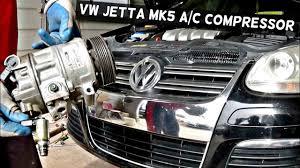 how to remove the a c compressor on vw jetta mk5 ac compressor