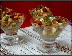recette cuisine originale salade viande poulet recette cuisine ukrainienne chignons entré