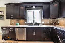 Black Shaker Kitchen Cabinets Kitchen Hargrove Illuminated White Shaker Kitchen Cabinet With