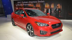 2017 subaru impreza hatchback red 2017 subaru impreza sport debuts in nyc