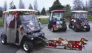 Christmas Lights For Cars Foursom Golf Cars The Estates Golf Car Christmas Lights Parade