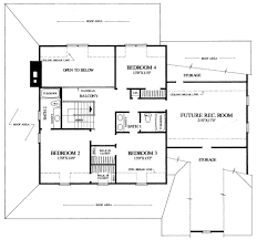 Farmhouse Floor Plan by Country Style House Plan 4 Beds 3 50 Baths 2910 Sq Ft Plan 137 216
