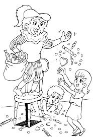 st nicholas coloring santa claus saint nicholas coloring