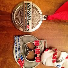 thanksgiving atlanta half marathon every medal has a memory runladylike