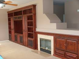 built in entertainment center cabinets in newport beach