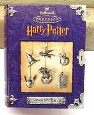 hallmark harry potter ornaments ebay