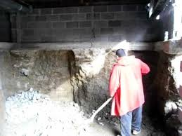 Basement Dig Out Cost by Man Digs Nine Foot Basement Under An Existing House By George