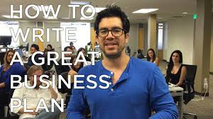 How To Write A Great Business Plan   YouTube How To Write A Great Business Plan
