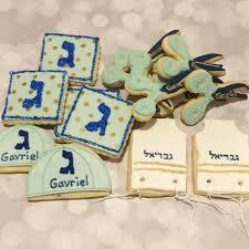 upsherin bags assorted upsherin themed cookies mini bites cookies and cake