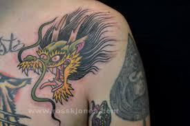 dragon tattoo traditional danielhuscroft com