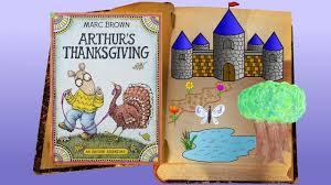 arthur s thanksgiving book arthur s thanksgiving by marc brown children s books read aloud