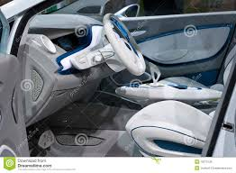 renault concept interior renault zoe concept car editorial stock photo image 13464103