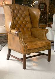 1920 u0027s leather wingback chair at 1stdibs