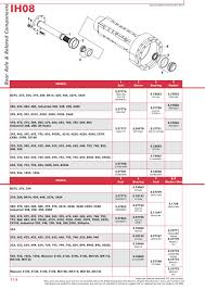 case ih catalogue rear axle page 120 sparex parts lists