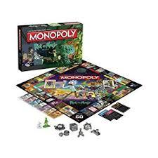 amazon black friday deals board games amazon com monopoly rick u0026 morty board game toys u0026 games