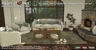 Living Room Beds - second life marketplace u003cheart homes u003e