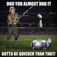 Broncos Patriots Meme - patriots tie broncos for most super bowl losses yes misery does
