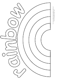 rainbow coloring pages u2013 wallpapercraft
