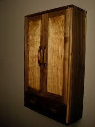 walnut butternut wall cabinet lohr woodworking studio