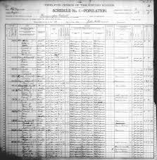 William Poole Taylor County Wv 1900 P Q Census Index
