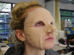 prosthetic halloween makeup prosthetic chin makeup images