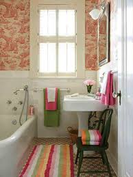 Little Girls Bathroom Ideas Beautiful Remarkable Curtain Design Ideas With Polkadots In