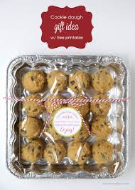 gift cookies cookie dough gift idea i heart nap time