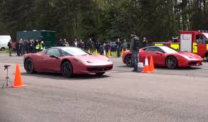 458 spider speciale how not to race a 458 speciale against a 458 spider