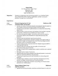 Staff Accountant Resume Sample Resume Cpa Resume Examples
