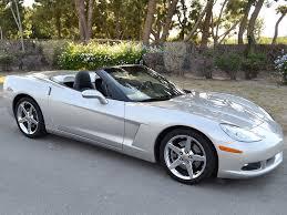 2007 corvettes for sale sold 2007 chevrolet corvette convertible in machine silver for