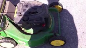 john deere ja65 5 speed blade brake clutch mower problems youtube