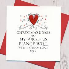 fiancee christmas card christmas lights decoration