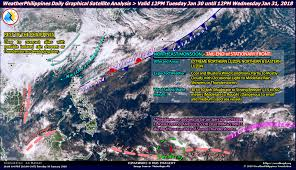 Lightning Strike Map Weatherphilippines Daily Graphical Satellite Analysis From 12pm