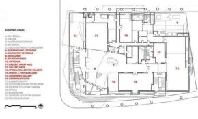 floor plans alberta art gallery of alberta by randall stout architects 21