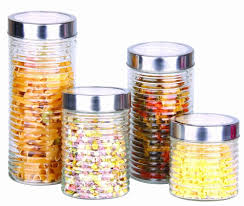 kitchen food canister sets pasta jar tea coffee herbs storage